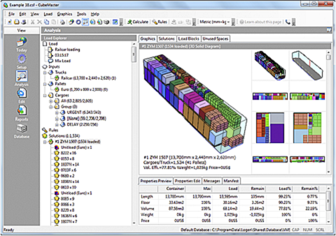 Cargo Loading Software Container Truck Load Plan And Optimization Packaging Design Software Pallet Calculation From Logen Solutions